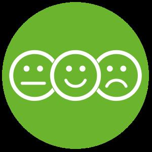 picto satisfaction client opacity
